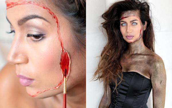 Halloween tutorial | Glam Zombie