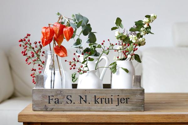 Makkelijke Pinterest-style herfstdecoraties