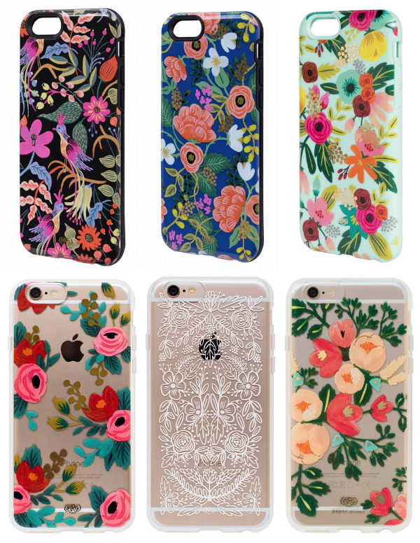 rifle paper phone cases