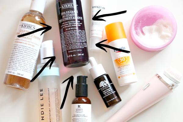 skincare-routine-producten