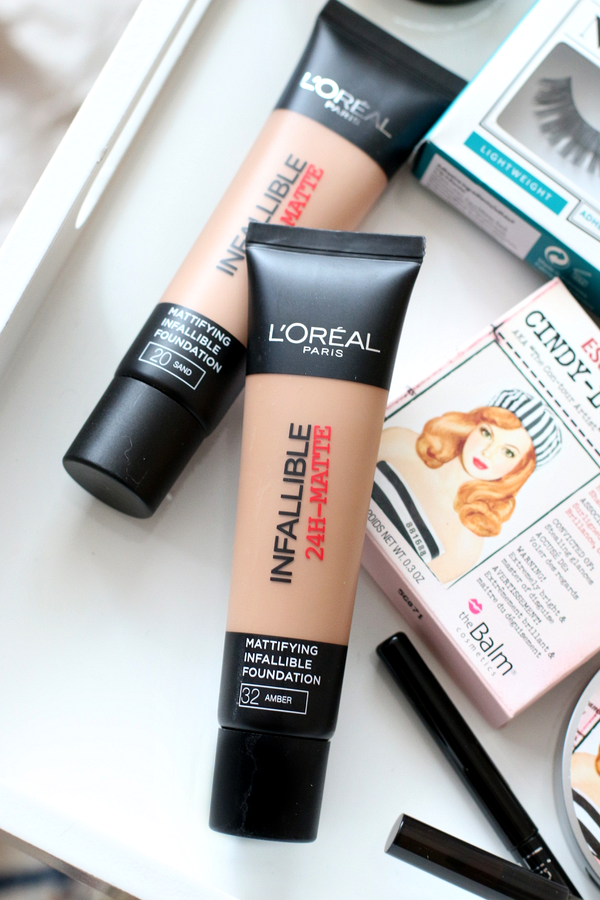 l'oreal infallible matte foundation - 1