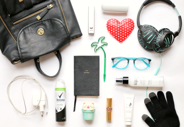 What's in my bag – winter edition