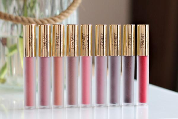 Gerard Cosmetics hydra matte review van 9 kleuren