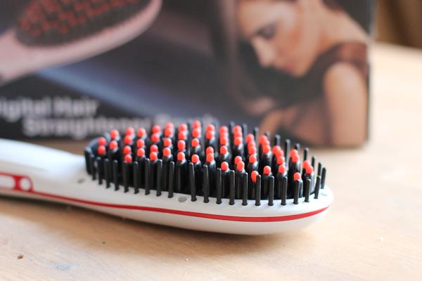 hair brush straightener review - 2