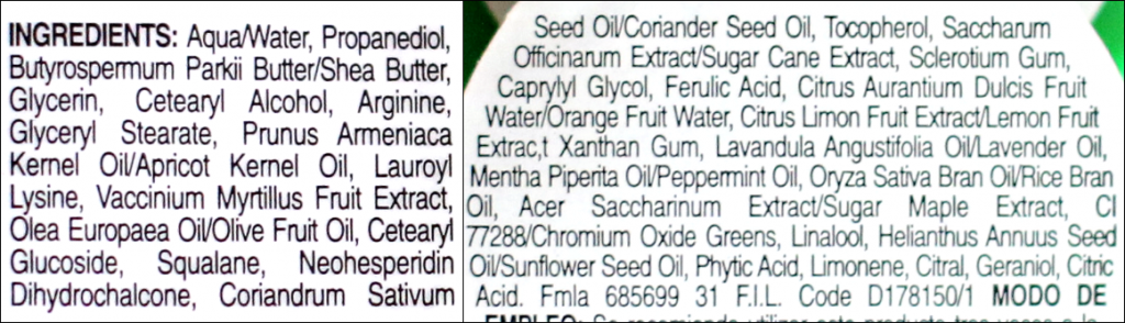 kiehl's masker ingredienten