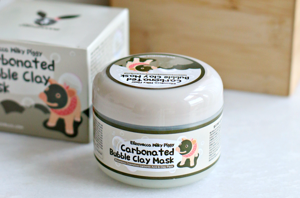 Elizavecca Milky Piggy Carbonated Bubble Clay Mask review_ - 2