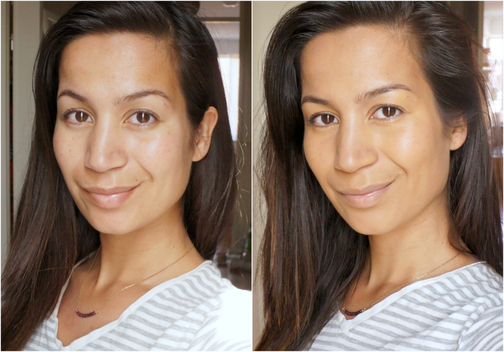 charlotte tilbury magic foundation before after
