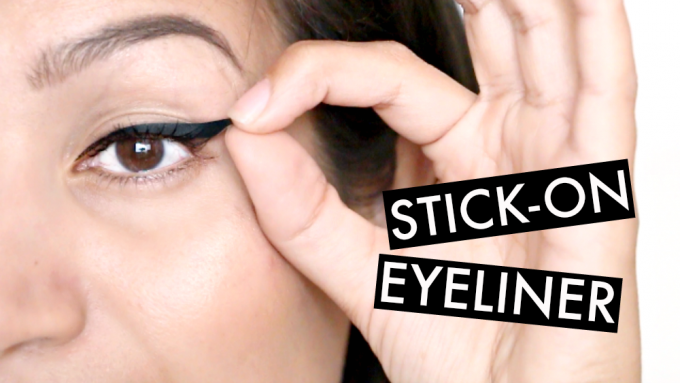 Getest | stick-on eyeliner