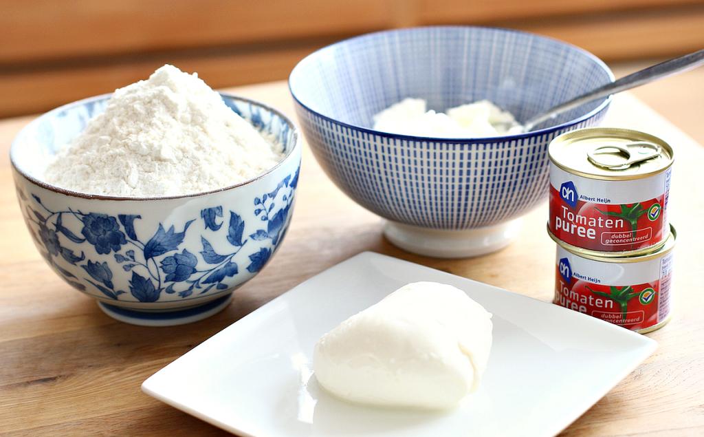 pizzadeeg griekse yoghurt_ - 1