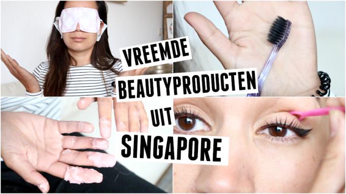 Getest | vreemde beautyproducten uit Singapore