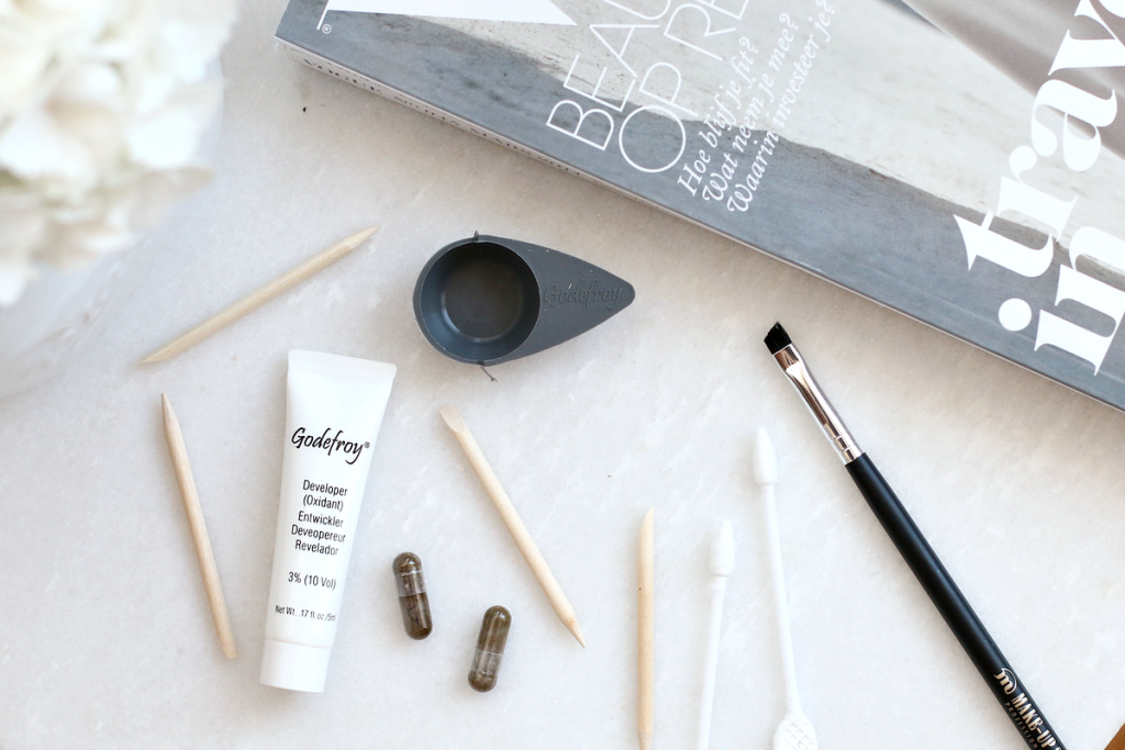 Godefroy instant eyebrow tint review_ - 4