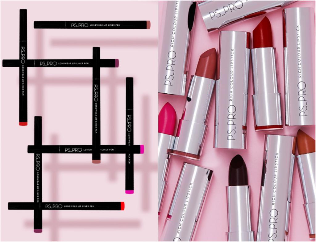 PS PRO lipsticks