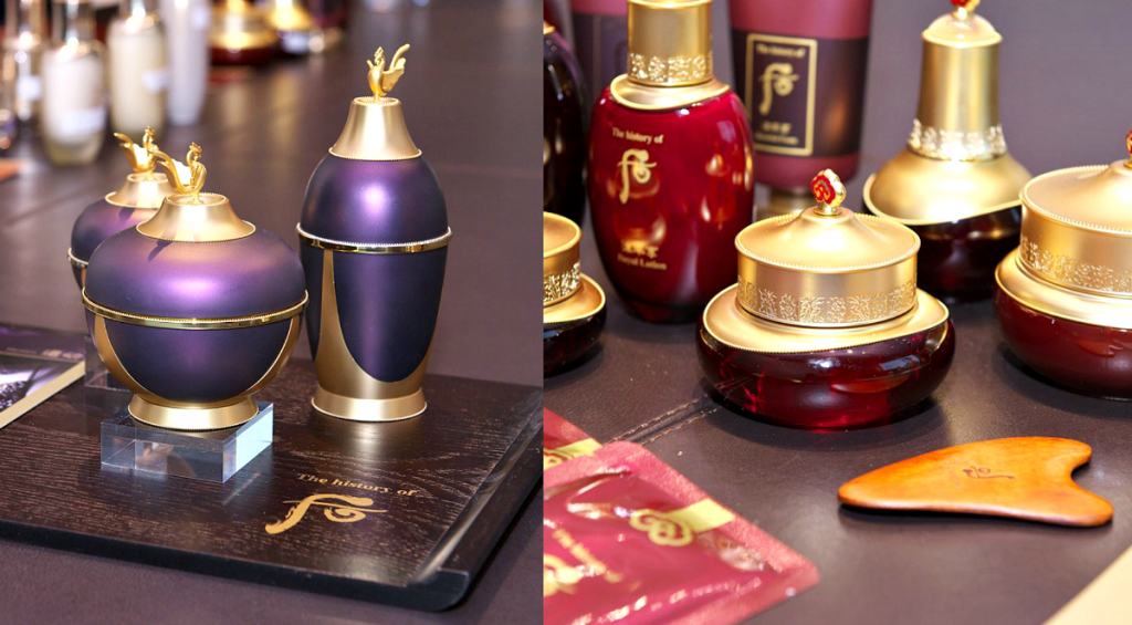 history of whoo skincare