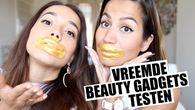 Gekke beautyproducten testen met Bibi