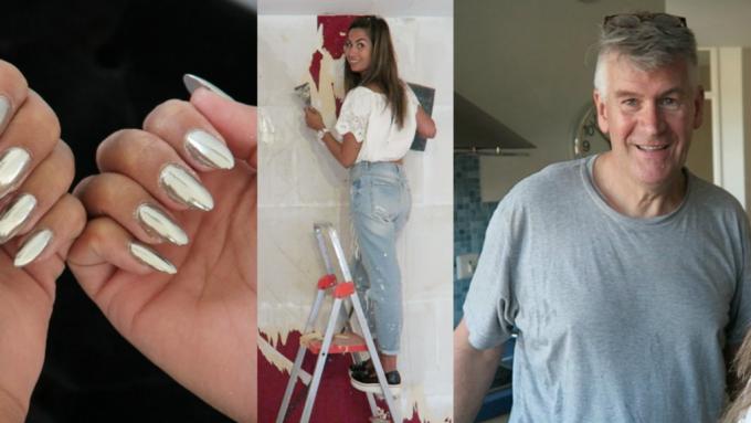 Random vlog | chrome nails & klussen