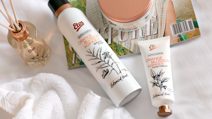 Etos Botanical Boost Orange Blossom & Ginger review