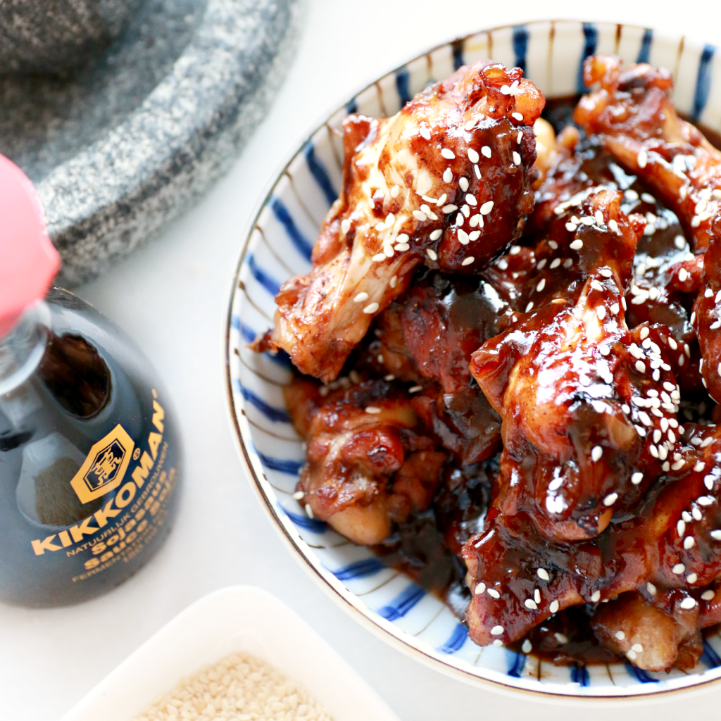 sticky chicken recept _ - 5