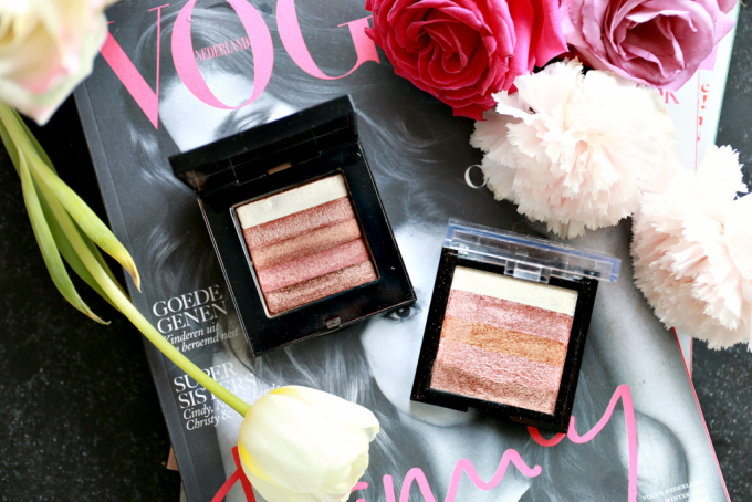 "MAX & MORE ""shimmer brick"" highlighter review"