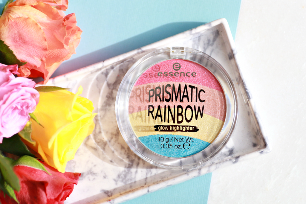 essence Prismatic Rainbow highlighter review_ - 1