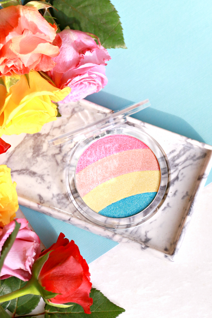 essence Prismatic Rainbow highlighter review_ - 5