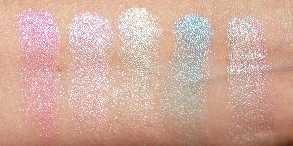 essence Prismatic Rainbow highlighter review_ - 7