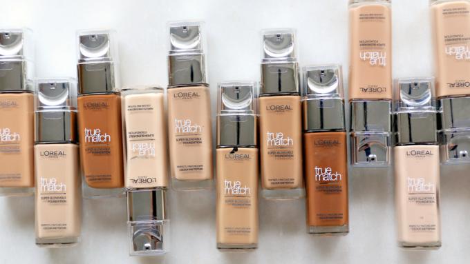 L'Oréal True Match foundation review (nu 20 kleuren beschikbaar!)