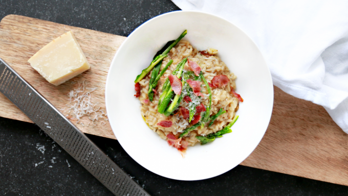 Food Friday | foolproof risotto recept