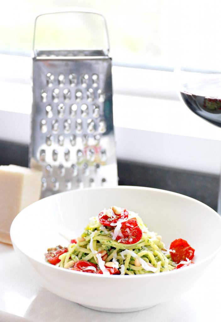 zelfgemaakte spinazie pesto recept_ - 1