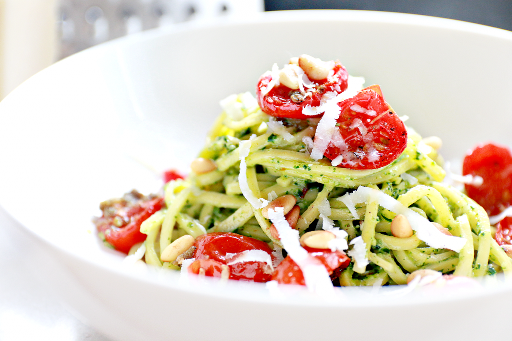 zelfgemaakte spinazie pesto recept_ - 2