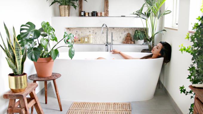 Mijn Urban Jungle badkamer
