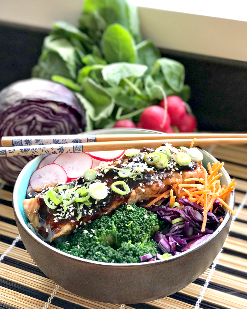 zalm teriyaki bowl recept_ - 4