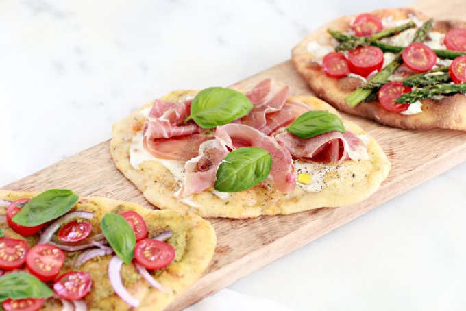 Food Friday | mini lente flatbreads