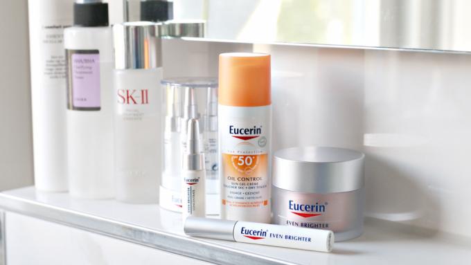 Nieuw in mijn skincare routine: Eucerin Even Brighter