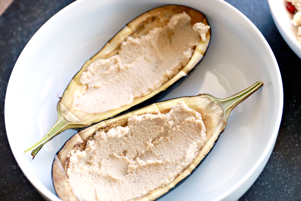gevulde aubergine couscous_ - 2