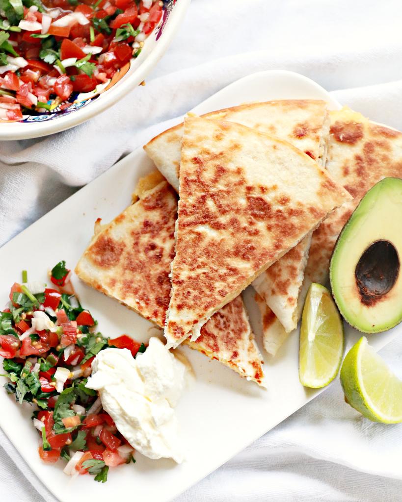 quesadilla's met kip makkeijk recept_ - 5