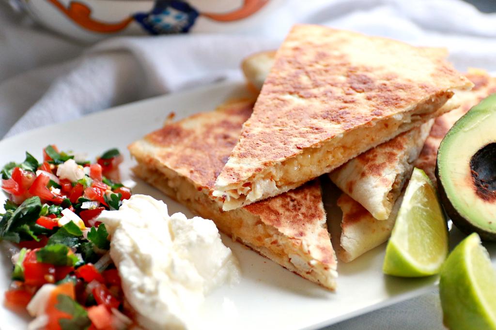 quesadilla's met kip makkeijk recept_ - 9