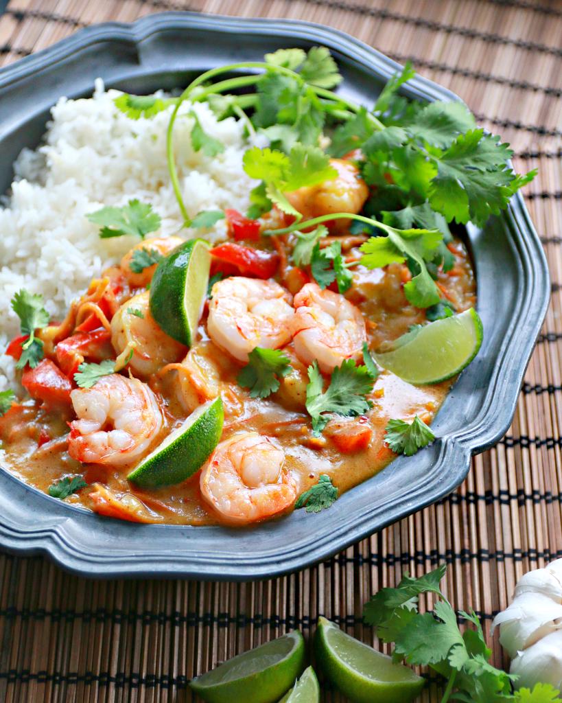 thaise curry garnalen mango_ - 1