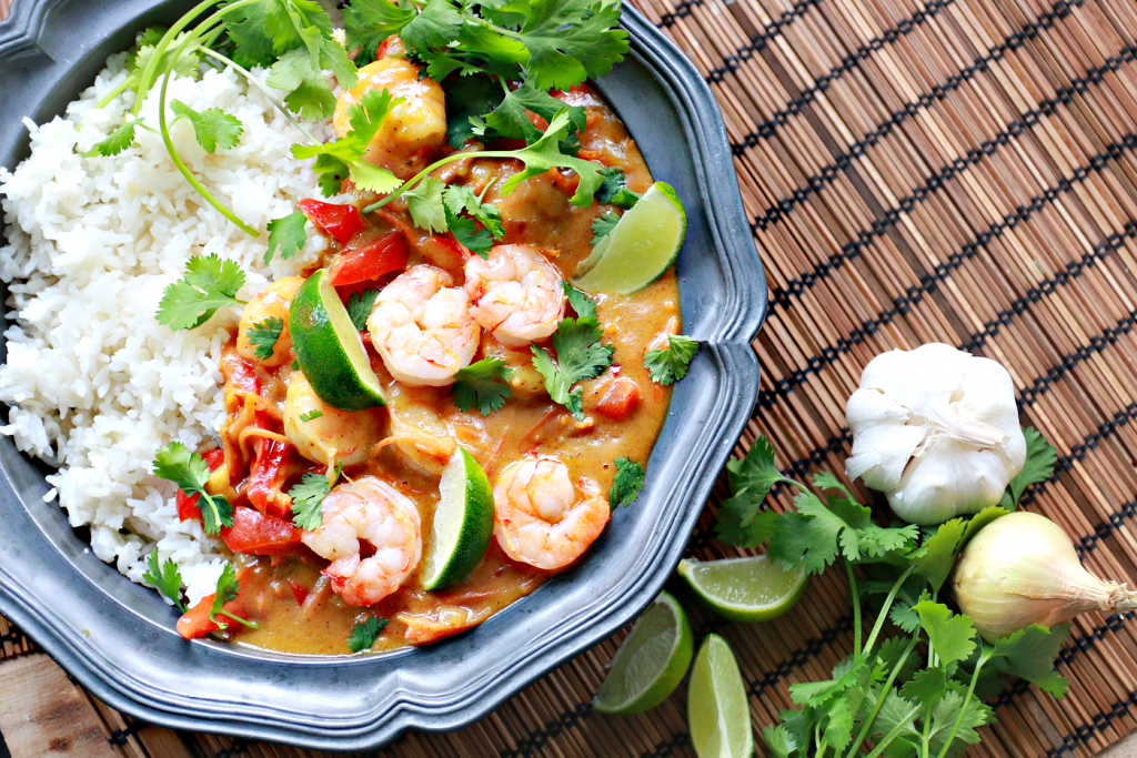 thaise curry garnalen mango_ - 2
