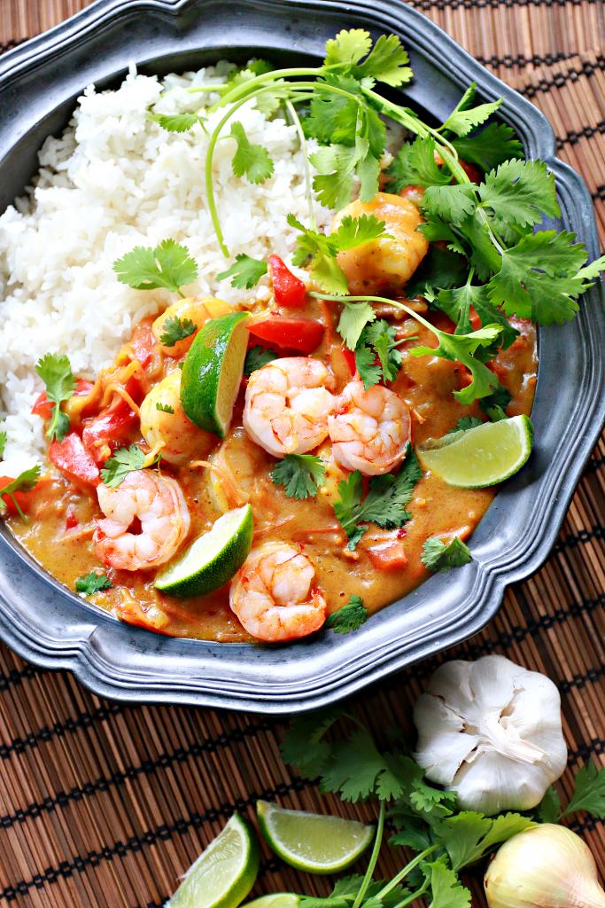 thaise curry garnalen mango_ - 3