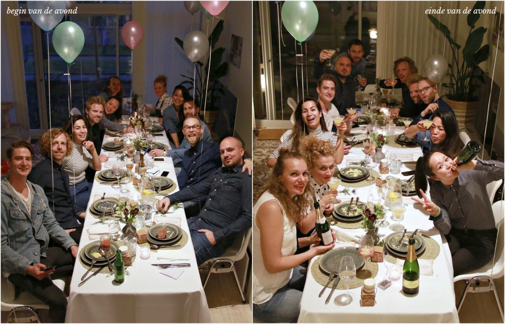 vriendengroep diner